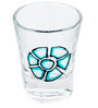 Poppadum Art Ironman Shot Glass