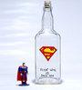 Poppadum Art Superman Bottle
