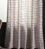 Portico Multicolour Cotton 54 x 84 Inch Happiness Is Door Curtain - Set of 2