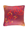 Portico Pink Cotton 16 x 16 Inch Neeta Lulla Cushion Cover - Set of 2