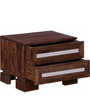 Tacoma Bed Side Table in Provincial Teak Finish by Woodsworth