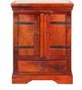 Dvaraka End Table in Honey Oak Finish by Mudramark