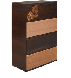 Prado Chest Of Four Drawers In Oak  Colour By @Home