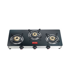 Prestige GTM03L 3-burner Glass Cooktop