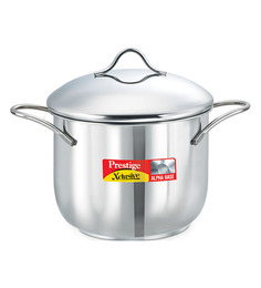 Prestige Xclusive Stainless Steel  Stainless Steel 2500 ML Deep Pot