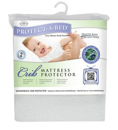 Protect-A-Bed Crib Protector In White Colour