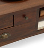 Prague Coffee Table in Provincial Teak Finish by The ArmChair