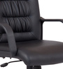 Praise Medium Back Ergonomic Chair in Black Colour by Durian