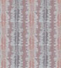Presto Blue Polyester Designer Pattern Window Blind
