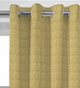 Presto Dark Gold Polyester 60 x 46 Inch Window Curtain - Set of 2