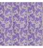 Presto Purple Polyester Abstract Printed Window Blind