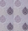 Presto Purple Polyester Embroidered Window Blind