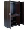 Prime Three Door Wardrobe in Wenge Colour by HomeTown