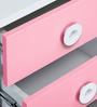 Prism Bed Side Table in Pink Colour by Alex Daisy