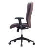 Proactive II High Back Office Chair in Brown colour by BlueBell Ergonomics
