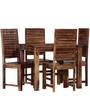Montesano Four Seater Dining Set in Provincial Teak Finish by Woodsworth