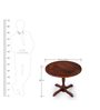 Pub Round Dining Table by Abaca