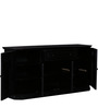 Ludovic Sideboard in Espresso Walnut Finish by Amberville