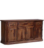 Ludovic Sideboard in Provincial Teak Finish by Amberville