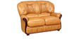 Queen Two Seater Sofa in Mustard Colour by Star India