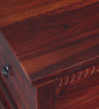 Queensberry Trunk in Honey Oak Finish by Amberville