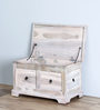 Queensberry Trunk in Whiteline Finish by Amberville