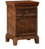 Cashmere Bed Side Table in Provincial Teak Finish by Woodsworth