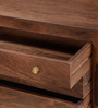 Rochester Solid Wood Chest of Drawers in Provincial Teak Finish by Woodsworth