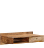 Freemont Wall Mount Study Table in Natural Mango Wood Finish by Woodsworth