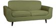 Rafael Three Seater Sofa in Green Colour by CasaCraft