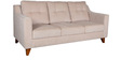 Ravioli Three Seater Sofa in Beige Colour by HomeTown
