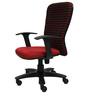Rado Ergonomic Chair in Red & Black Colour by Starshine