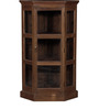 Suffolk Book Case in Provincial Teak Finish by Amberville