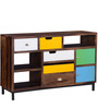 Kelis Sideboard in Multi-Colour Finish by Bohemiana