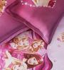 Rago Kids Barbie Single Bedsheet with 1 Pillow Case