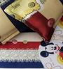 Rago Kids Mickey Double Bedsheet with 2 Pillow Covers