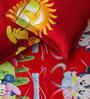 Rago Kids Minnie & Daffy Duck Single Bedsheet with 1 Pillow Case