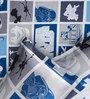 Rago Kids Star Wars Single Bedsheet in Blue & Grey with 1 Pillow Case