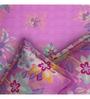 Rago Pink Cotton Queen Size Bedsheet - Set of 3