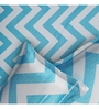 Rago Turquoise Cotton Queen Size Bedsheet - Set of 3