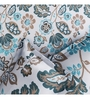 Rago Turquoise Poly Cotton Queen Size Bedsheet - Set of 3