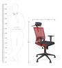 Rainbow High Back Office Chair - Series A - Black by BlueBell Ergonomics