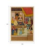 Rajrang Antique Paper 4 x 6 Inch Elegant Unframed Painting
