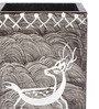 Rajrang Black & White Wood & MDF Animal Hand Painted Pen Holder