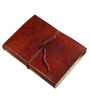 Rajrang Brown Leather & Paper Festive Diary