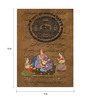 Rajrang Paper 9 x 12 Inch Delightful Traditional Unframed Painting