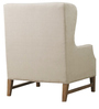 Ralexus Wingback Chair in Beige Colour by Madesos