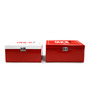 Random in Tandem Metal Red Ouch First Aid Box