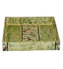 Rang Rage Different Green Wood Square Serving Tray