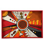 Rang Rage Wooden Abstract Universe Hand Painted Tray